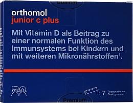 Kup Witamina C + D z selenem w granulkach - Orthomol Junior C Plus