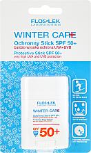 Kup PRZECENA! Przeciwsłoneczny sztyft do twarzy Zimowa ochrona SPF50 - Floslek Winter Care Protective Stick *