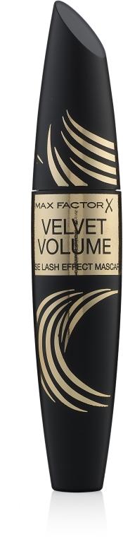 Pogrubiający tusz do rzęs - Max Factor Velvet Volume False Lash Effect Mascara