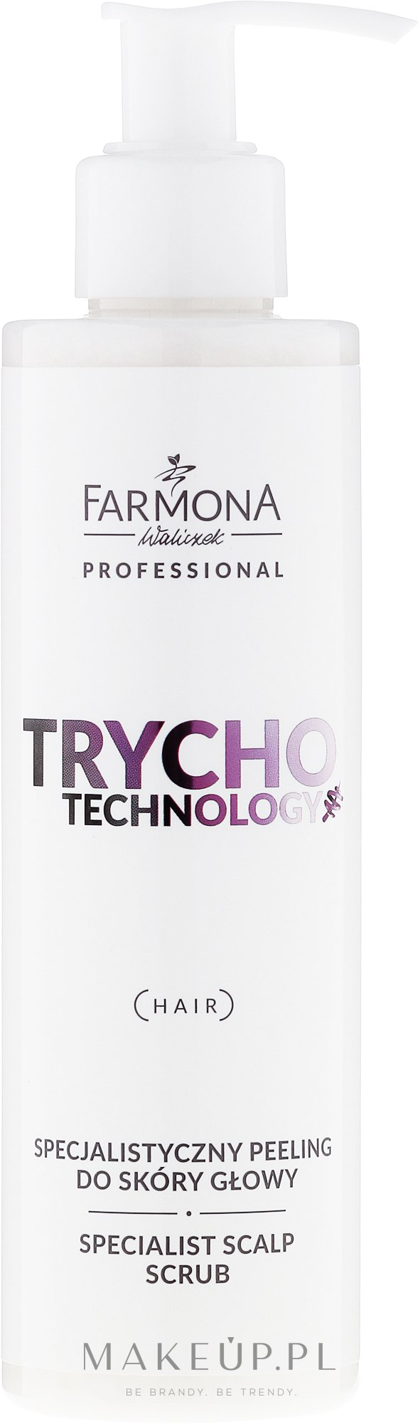 Specjalistyczny peeling do skóry głowy - Farmona Professional Trycho Technology Specialist Scalp Scrub — фото 200 ml