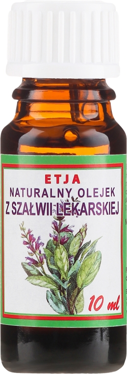 Naturalny olejek z szałwii lekarskiej - Etja — фото N2