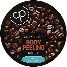 Kup Cukrowy peeling do ciała Kawa - Cosmepick Body Peeling Coffee