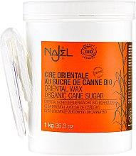 Pasta cukrowa do depilacji - Najel Organic Oriental Sugar Wax — фото N5