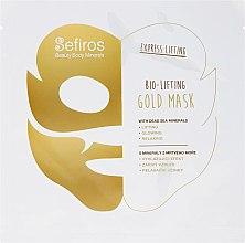 Kup Bioliftingująca złota maseczka do twarzy z minerałami z Morza Martwego - Sefiros Bio-Lifting Gold Mask