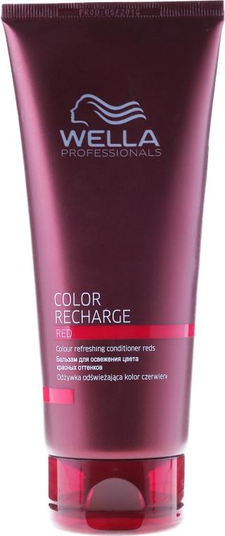 Odżywka odświeżająca kolor czerwieni włosów - Wella Professionals Color Recharge Red