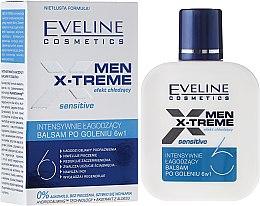 Kup Intensywnie łagodzący balsam po goleniu 6 w 1 dla mężczyzn - Eveline Cosmetics Men X-Treme Sensitive