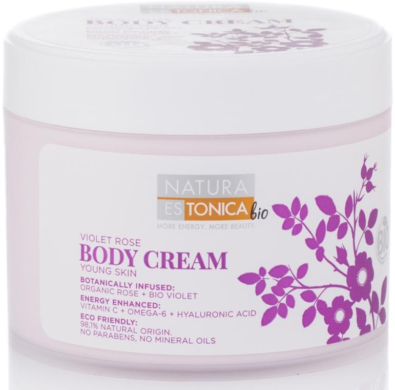 Krem do ciała Róża i fiołek - Natura Estonica Violet Rose Body Cream