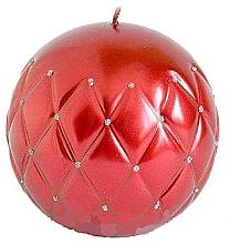 Kup Świeca dekoracyjna bordowa kula, 10 cm - Artman Florence