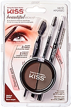 Kup Zestaw do modelowania brwi - Kiss Beautiful Brow Kit