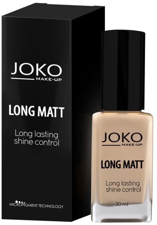 Matujący podkład do twarzy - Joko Long Matt