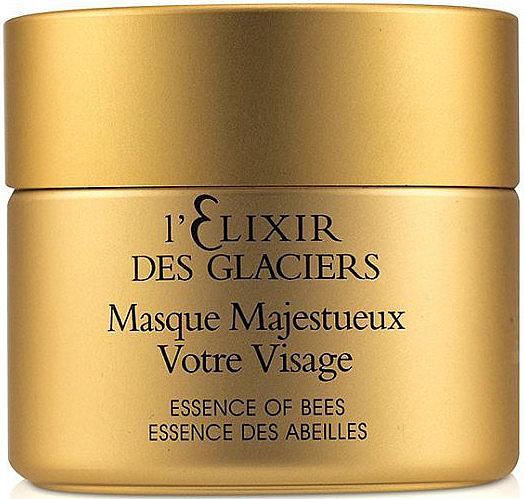 PRZECENA! Intensywnie odżywcza maska do twarzy Eliksir z lodowca alpejskiego - Valmont L'Elixir Des Glaciers Masque Majestueux Votre Visage * — фото N1