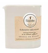 Kup Świeca do masażu Kokosowe odżywienie - Flagolie Coconut Nutrition Massage Candle