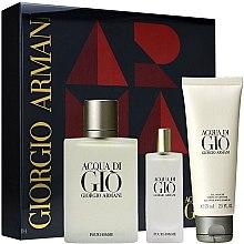 Kup Giorgio Armani Acqua Di Gio Pour Homme - Zestaw (edt 100 ml + edt 15 ml + sh/gel 75 ml)