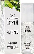 Kup Szmaragdowy krem przeciwstarzeniowy pod oczy - SM Collection Crystal Anti-Aging Eye Cream