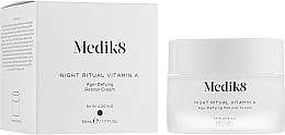 Kup Przeciwstarzeniowy krem do twarzy z retinolem - Medik8 Night Ritual Vitamin A
