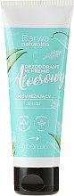 Kup Odświeżający dezodorant aloesowy w kremie do stóp - Barwa Naturalna