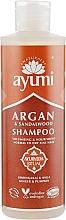 Kup Szampon do włosów Argan i drzewo sandałowe - Ayumi Argan & Sandalwood Shampoo