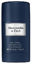 Kup Abercrombie & Fitch First Instinct Blue - Dezodorant w sztyfcie