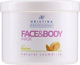 Kup Melonowa maska do twarzy i ciała - Hristina Professional Melon Face & Body Mask