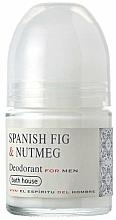 Kup Bath House Spanish Fig and Nutmeg - Dezodorant w kulce dla mężczyzn