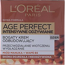 Kup Regenerujący krem do twarzy na dzień 60+ - L'Oreal Paris Age Perfect Intense Nutrition Regenerating Day Cream