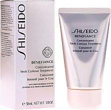 Kup Przeciwstarzeniowy krem intensywnie pielęgnujący okolice szyi i dekoltu - Shiseido Benefiance Concentrated Neck Contour Treatment
