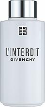 Kup Givenchy L'Interdit Eau de Parfum - Perfumowany olejek do kąpieli i pod prysznic