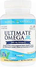 Kup Suplement diety Omega 3 o smaku truskawkowym, 680 mg - Nordic Naturals Ultimate Omega Junior