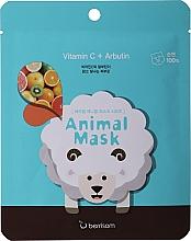 Kup Maseczka w płachcie z witaminą C - Berrisom Animal Mask Vitamin C + Arbutin Series Sheep