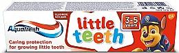 Kup Pasta do zębów dla dzieci 3-5 lat Moje małe zęby - Aquafresh Kids PAW Patrol