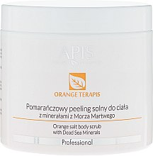 Kup Pomarańczowy peeling solny do ciała z minerałami z Morza Martwego - APIS Professional Orange TerApis