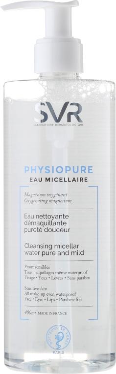 Delikatnie oczyszczająca woda micelarna - SVR Physiopure