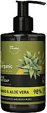 Kup Mydło w płynie Mango i aloes - Be Organic Liquid Hand Soap Mango & Aloes