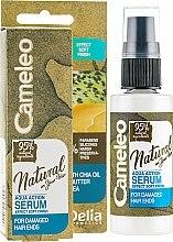 Kup Serum do zniszczonych końcówek włosów - Delia Cameleo Natural On Your Hair Aqua Action Serum For Hair With Damaged Ends