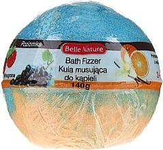 Kup Musująca kula do kąpieli, pomarańczowo-niebieska - Belle Nature Bath Fizzer