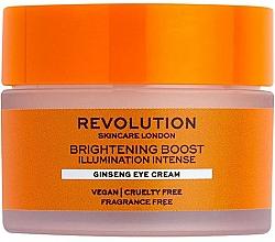 Kup Rozjaśniający krem pod oczy z żeń-szeniem - Revolution Skincare Brightening Boost Ginseng Eye Cream
