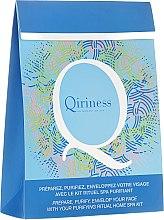 Kup Zestaw spa do twarzy - Qiriness (scrub 20 ml + steam 8 g + mask 30 g)