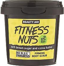 Kup Ujędrniający peeling do ciała z brązowym cukrem i masłem kakaowym - Beauty Jar Fitness Nuts Firming Body Scrub