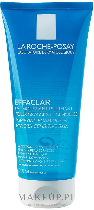 Oczyszczający żel do skóry tłustej i wrażliwej - La Roche-Posay Effaclar Gel Moussant Purifiant — фото 200 ml
