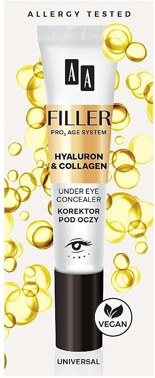 Korektor pod oczy - AA Filler Under Eye Concealer
