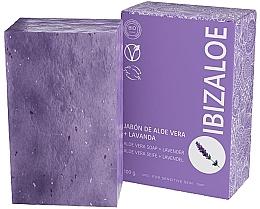 Kup Mydło w kostce lawendowe - Ibizaloe Aloe Vera Soap Lavender