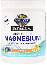 Kup Magnez w proszku o smaku pomarańczowym - Garden of Life Dr. Formulated