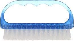 Kup Szczoteczka kosmetyczna do paznokci, 74752, niebieska - Top Choice