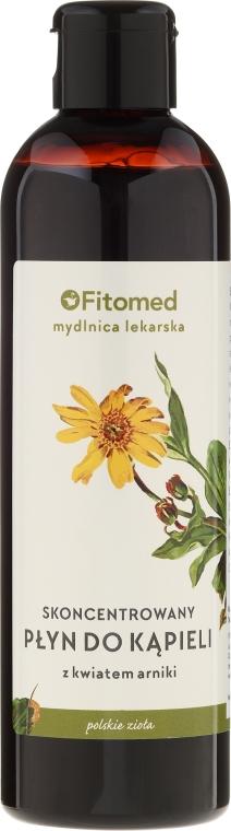 Skoncentrowany płyn do kąpieli z kwiatem arniki - Fitomed Polskie zioła Mydlnica lekarska — фото N1