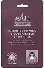 Kup Ujędrniająca maska w płachcie - Sukin Purely Ageless Intensive Firming Biodegradable Sheet Mask