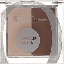 Kup Hipoalergiczna paletka do konturowania twarzy - Bell HYPOAllergenic Contour Palette