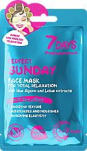Kup Relaksująca maseczka do twarzy - 7 Days Perfect Sunday