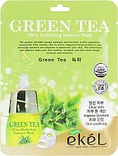 Kup Maska na tkaninie do twarzy z ekstraktem z zielonej herbaty - Ekel Green Tea Ultra Hydrating Essence Mask