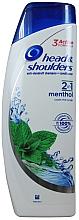 Kup Rewitalizujący szampon do włosów z organiczną oliwą z oliwek - Head & Shoulders Anti-dandruff menthol fresh 2in1 Shampoo