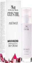 Kup Ametystowy krem nawilżający do twarzy na dzień - SM Collection Crystal Amethyst Moisturizing Day Cream